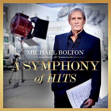 Michael Bolton Symphony of Hits Vinyl Record