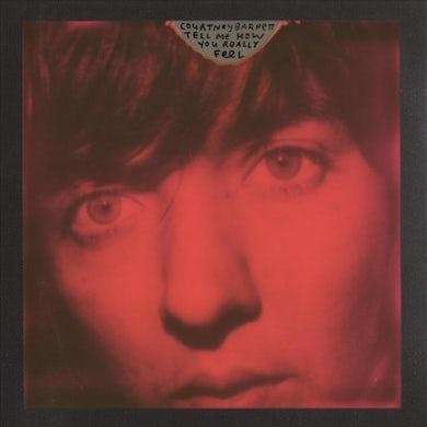 Courtney Barnett TELL ME HOW YOU REALLY FEEL (RED VINYL/MIRROR BOARD INTERIOR) (DL CARD) Vinyl Record