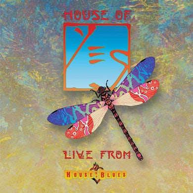 House of Yes: Live From House Of Blues (Translucent Blue 3 LP) Vinyl Record