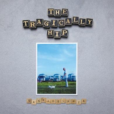 The Tragically Hip Saskadelphia (Silver LP) Vinyl Record