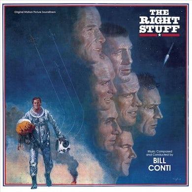 The Right Stuff - Original Motion Picture Soundtrack (Transparent Blue LP) Vinyl Record