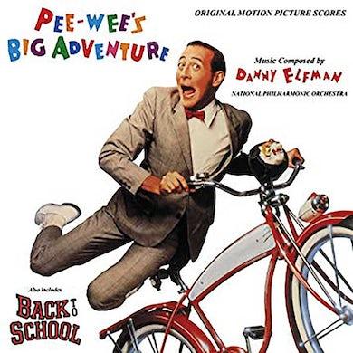 Pee-wee's Big Adventure - Original Motion Picture Score (LP)(Red) Vinyl Record