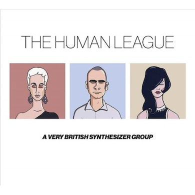 The Human League Anthology: A Very British Synthesizer Group (3 LP) Vinyl Record