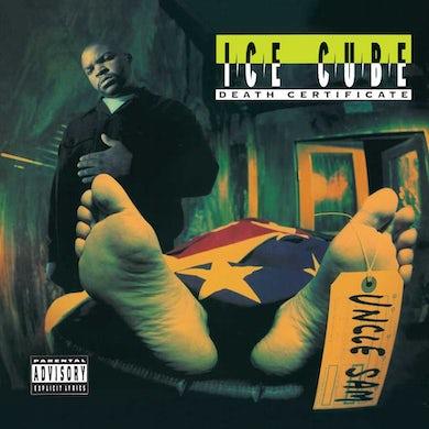 Ice Cube Death Certificate Vinyl Record