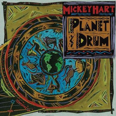 Mickey Hart Planet Drum Vinyl Record