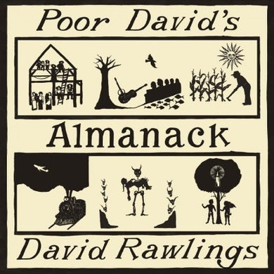 David Rawlings Poor David's Almanack Vinyl Record