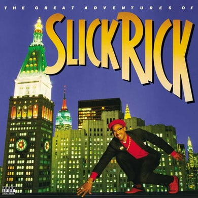The Great Adventures Of Slick Rick (2 LP)(Transparent Blue) Vinyl Record