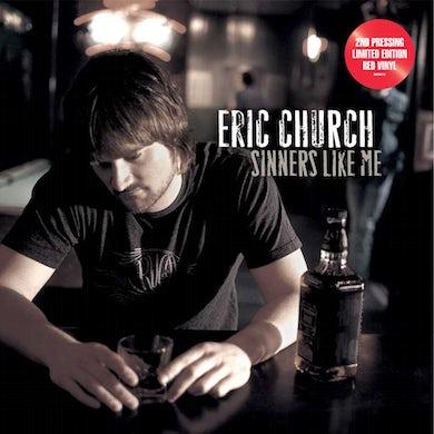 Eric Church Sinners Like Me Vinyl Record