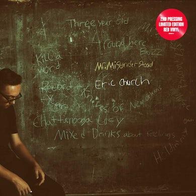 Eric Church Mr. Misunderstood (Red Vinyl) Vinyl Record