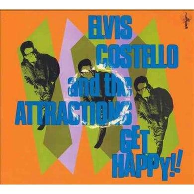 Elvis Costello Get Happy (2 LP) Vinyl Record