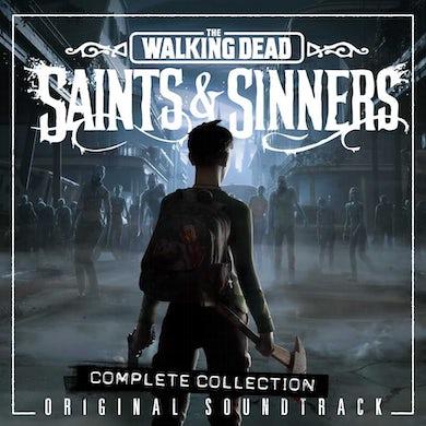 Soundtrack The Walking Dead: Saints & Sinners (3 LP) (Red/Green/Clear Smoke) Vinyl Record