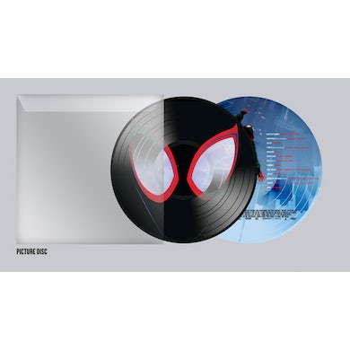 Various Artists SPIDER-MAN: INTO THE SPIDER-VERSE (PICTURE DISC) Vinyl Record