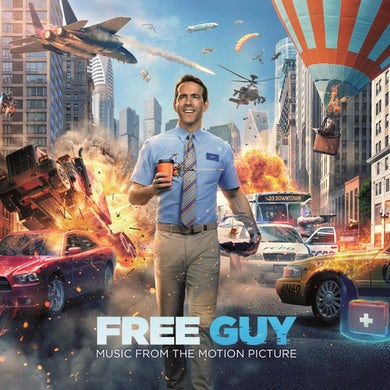 Various Artists Free Guy (Original Motion Picture Soundtrack) (Orange LP) Vinyl Record