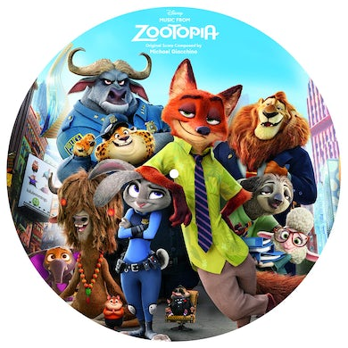 Music From Zootopia (Picture Disc) Vinyl Record