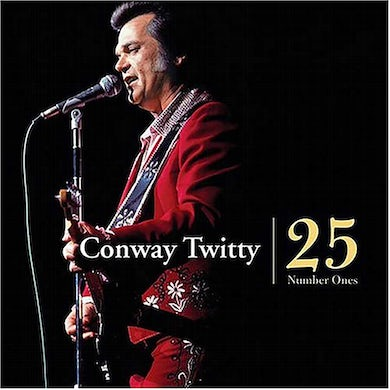 Conway Twitty 25 Number Ones Vinyl Record