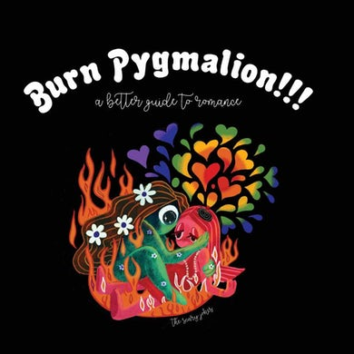 The Scary Jokes Burn Pygmalion!!! A Better Guide to Romance (Fiery Red Galaxy LP) Vinyl Record