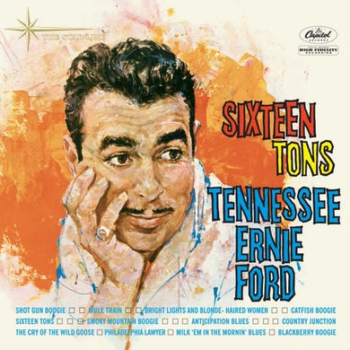 Tennessee Ernie Ford Sixteen Tons Vinyl Record