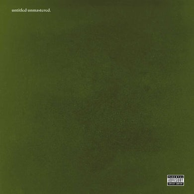 Untitled Unmastered. Vinyl Record