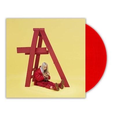 Billie Eilish dont smile at me (LP)(Opaque Red) Vinyl Record