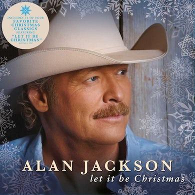 Alan Jackson Let It Be Christmas Vinyl Record