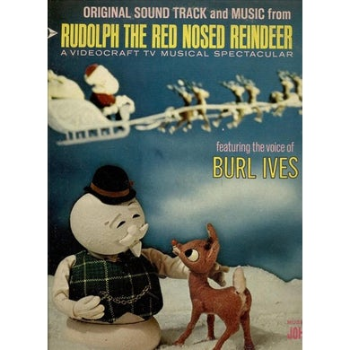 Burl Ives Rudolph The Red-Nosed Reindeer (LP) Vinyl Record