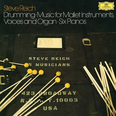 Steve Reich Reich: Drumming(Ltd) Vinyl Record