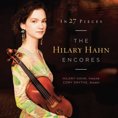 In 27 Pieces: The Hilary Hahn Encores Vinyl Record