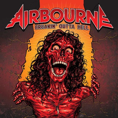 Airbourne Breakin' Outta Hell Vinyl Record