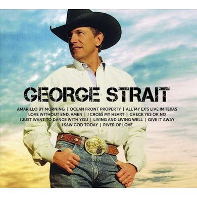 ICON: George Strait Vinyl Record