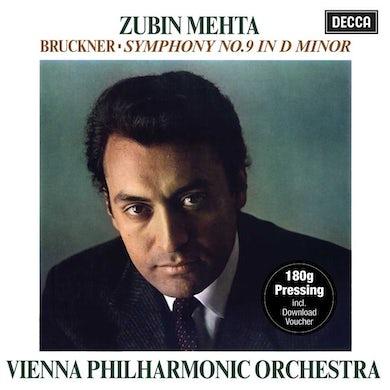 Zubin Mehta Bruckner: Symphony No. 9 In D Minor Vinyl Record