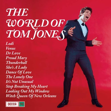 The World of Tom Jones Vinyl Record