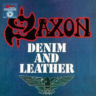 Saxon Denim and Leather Vinyl Record