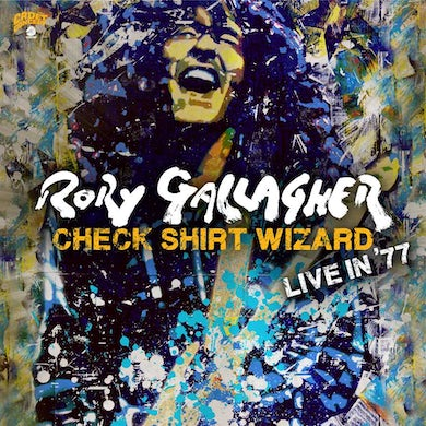 Rory Gallagher Check Shirt Wizard: Live in '77 (3 LP) Vinyl Record