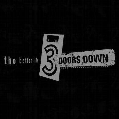 3 Doors Down The Better Life (20th  Anniversary) (2 LP + Green LP Box Set) Vinyl Record