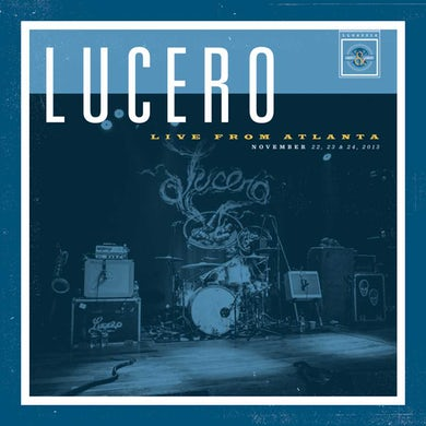 Lucero Live From Atlan(4 Lp) Vinyl Record