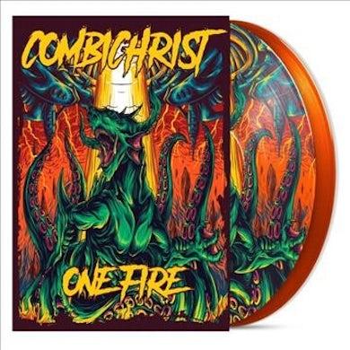 Combichrist One Fire (2 LP)(Orange) Vinyl Record