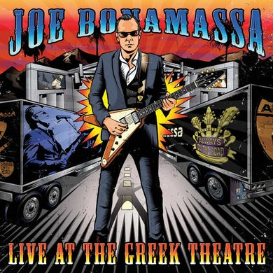 Joe Bonamassa Live At The Greek Theatre (4 LP) Vinyl Record