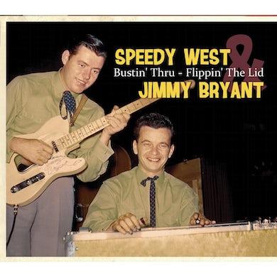 Speedy West Bustin Thru Flippin The Lid CD