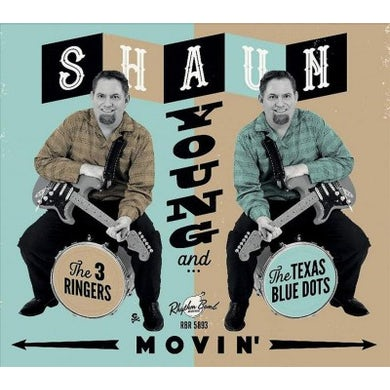 Shaun Young Movin' CD