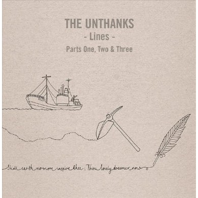 THE UNTHANKS Lines Parts One, Two And Three CD