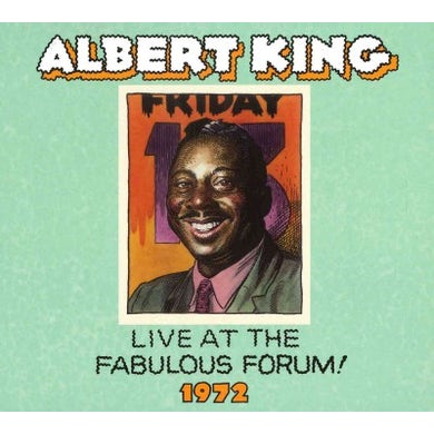 Albert King: Live Fabulous Forum 1972 CD