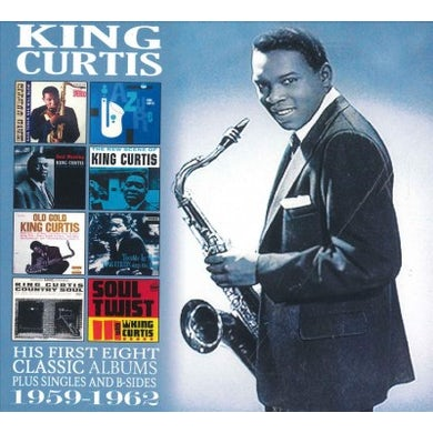 King Curtis His First Eight Classic Albums: 1959-1962 CD
