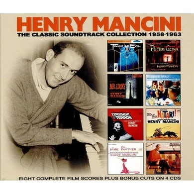 Henry Mancini Classic Soundtrack Collection: 1958-1963 (OST) CD