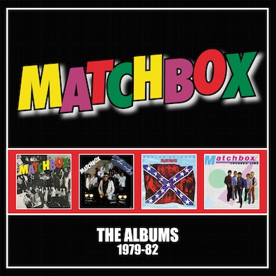 Albums 1979 82: 4 Cd Clamshell Boxset CD