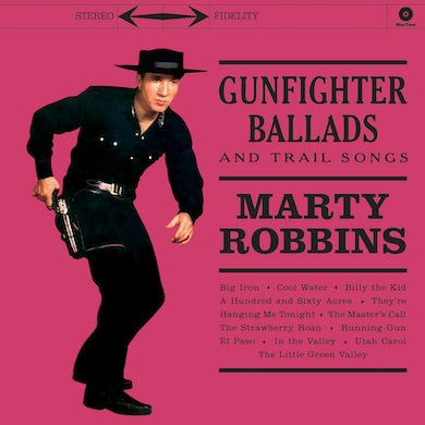 Marty Robbins Gunfighter Ballads and Trail Songs Vinyl Record