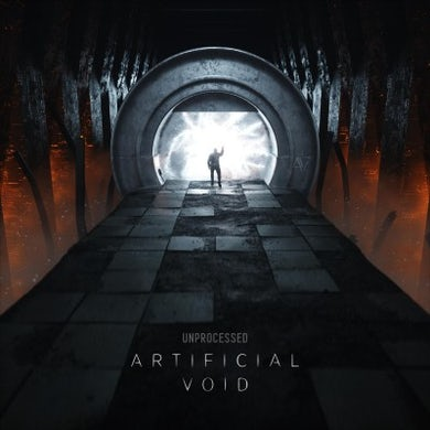 Unprocessed Artificial Void Vinyl Record