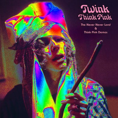 Twink Think Pink: The Never Never Land & Think Vinyl Record