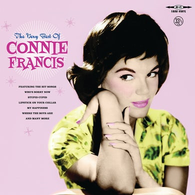 Very Best of Connie Francis Vinyl Record