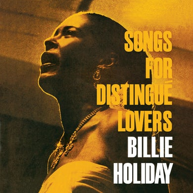 Billie Holiday Songs For Distingue Lovers Vinyl Record