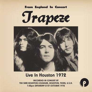 Trapeze Live In Houston 1972: Limited Edition 18 Vinyl Record